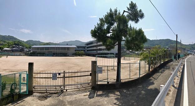 音戸小学校 呉市音戸町南隠渡1丁目 2018年6月9日
