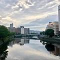 Photos: 駅前大橋から駅西高架橋方向 広島市南区京橋町 - 松原町 2018年6月27日