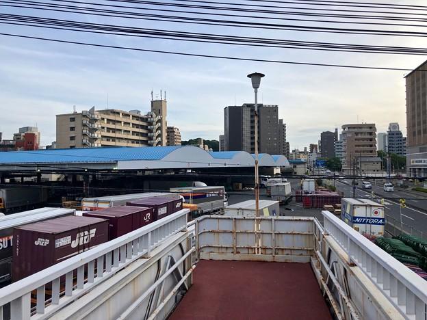 日通広島ターミナル跡地 ケーズデンキ出店予定地 広島市南区西蟹屋4丁目 2018年7月2日