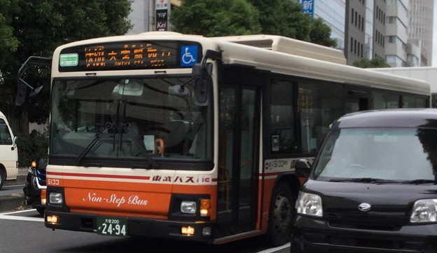 東武バス5133号車 大宮駅西口