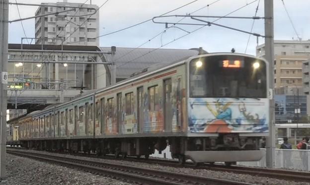 仙石線205系m2編成 小鶴新田~福田町間にて