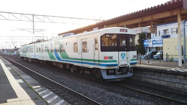 阿武隈急行8100系 槻木にて