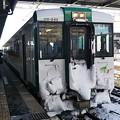 Photos: キハ110 陸羽東線 臨時快速湯けむり号 小牛田にて