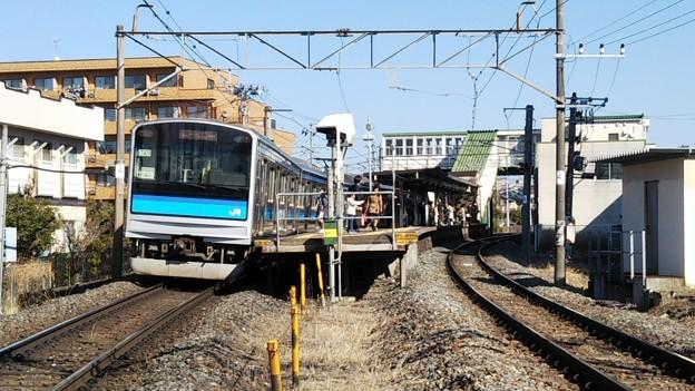 福田町駅ホーム