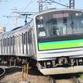 Photos: 苦竹駅に入選する仙石線あおば通行き