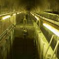 Photos: 出口からトンネル魚道を見下ろす