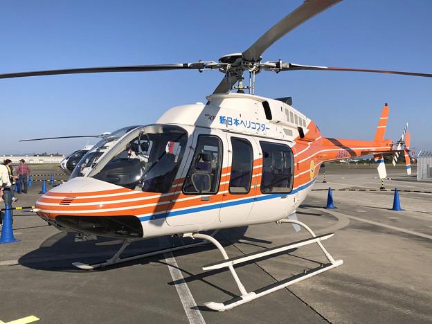 JA6407 新日本ヘリコプター ベル407 IMG_1328_2