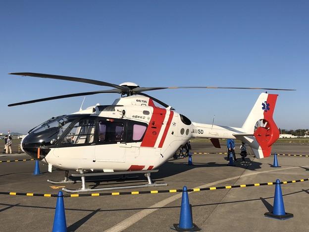 JA115D 中日本航空 ユーロコプター EC135P2 IMG_1346