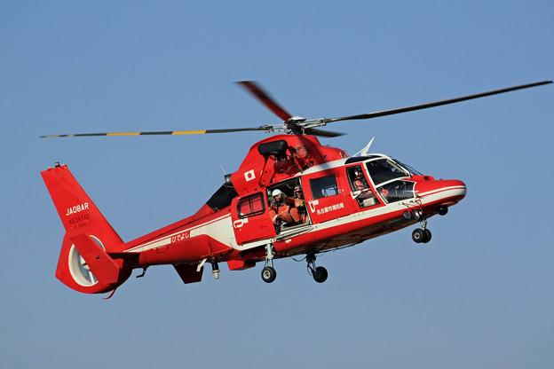 JA08AR 名古屋市消防航空隊 ひでよし エアバス・ヘリコプターズ AS365N3 Dauphin 2  IMG_8255_2