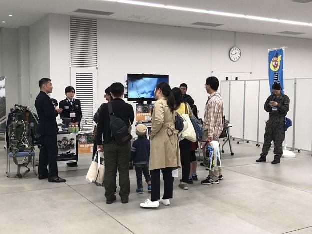 名古屋空港『空の日』フェスタ2018 自衛隊愛知県地方協力本部PRブース IMG_1283