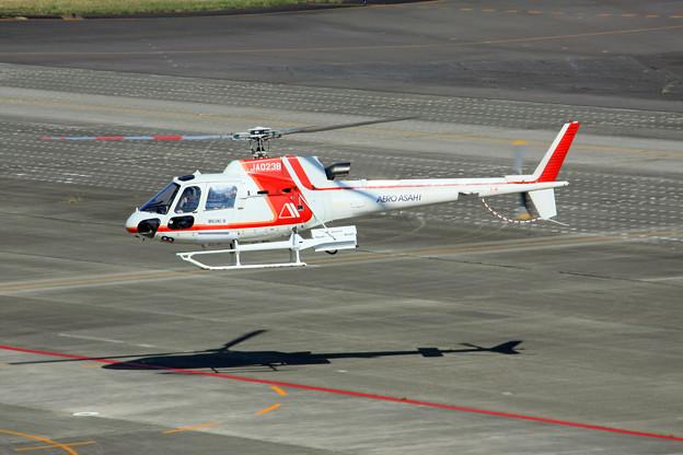 JA023B 朝日航洋 AS350B3 ユーロコプター エキュレイユ IMG_8218_2