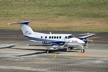 JA122N 中日本航空 ビーチクラフト・スーパーキング・エア IMG_8200_2