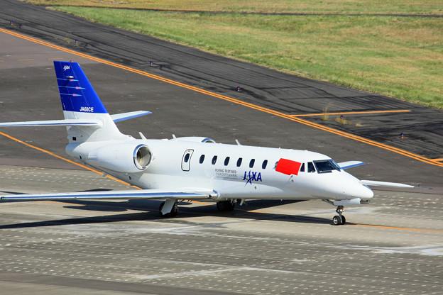JA68CE JAXA 宇宙航空研究開発機構 セスナ680 サイテーション・ソヴェリン IMG_8194_2