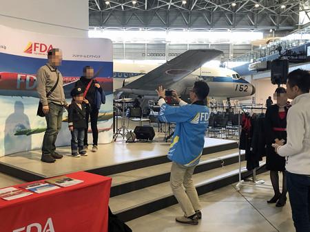 あいち航空ミュージアム 開館1周年記念イベント なりきり制服コーナー IMG_1407_2