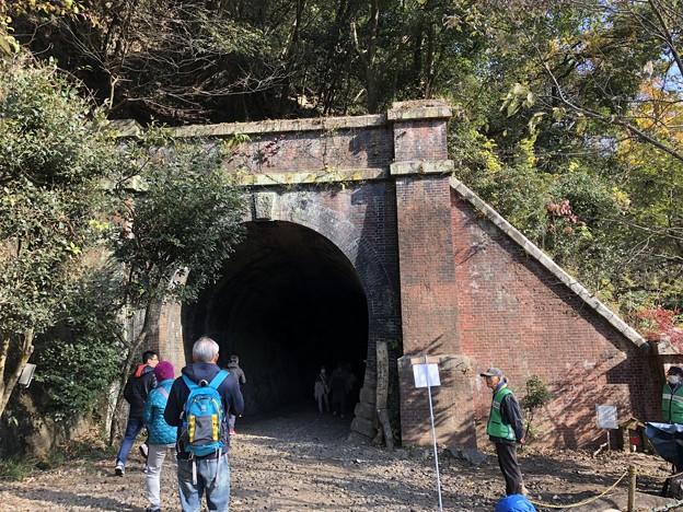 愛岐トンネル群 秋の特別公開 鉄道遺構 IMG_1499