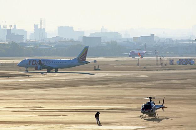 県営名古屋空港の朝 IMG_8498_2