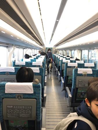 名鉄(名古屋鉄道)ミュースカイ車内 IMG_1640