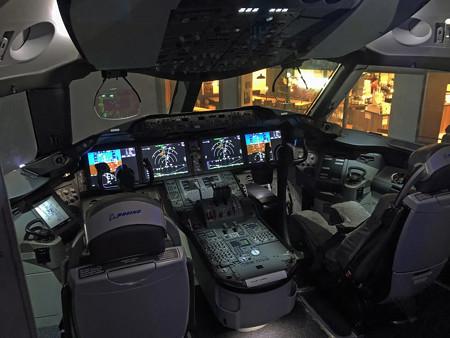 FLIGHT OF DREAMS フライト オブ ドリームズ B787 N787BA コックピット IMG_1651_2