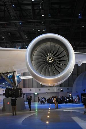 FLIGHT OF DREAMS フライト オブ ドリームズ B787 N787BA エンジン IMG_8611