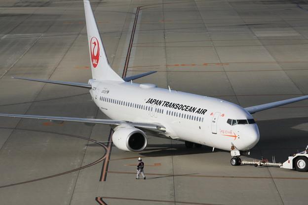 JTA日本トランスオーシャン航空 B737-8Q3 JA01RK IMG_8810