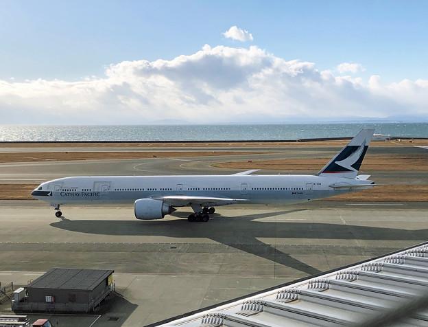 キャセイパシフィック航空 B777-300ER B-KQW IMG_1738_2