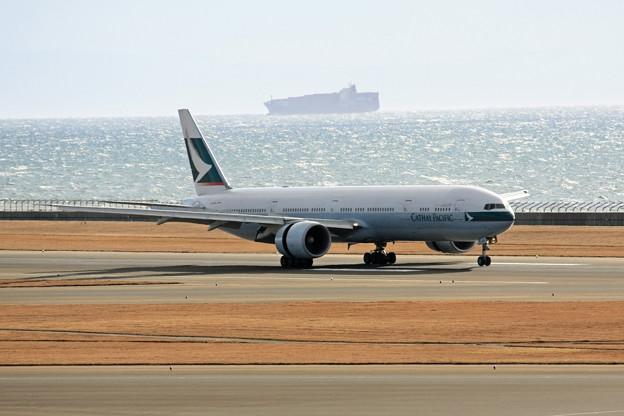 キャセイパシフィック航空 B777-300ER B-KQW IMG_8765_2