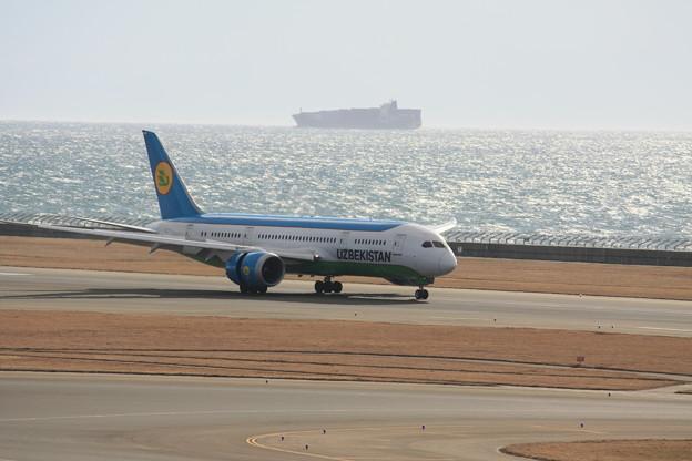 ウズベキスタン航空 B787-8 UK78701 IMG_8758