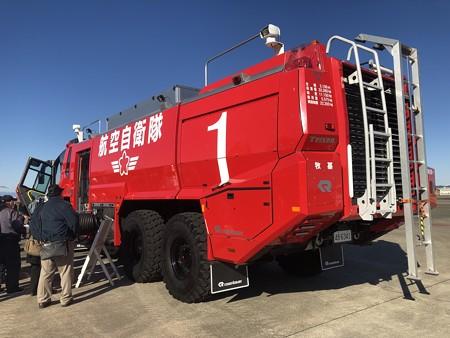西春日井二市一町合同出初式 航空自衛隊小牧基地 大型破壊機救難消防車 A-MB-3 IMG_2078