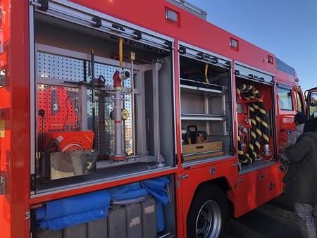 西春日井二市一町合同出初式 消防車展示 IMG_2079