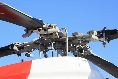 名古屋市消防局航空隊 ユーロコプターAS365N3 JA758A ローターハブ IMG_9026