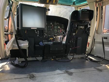 名古屋市消防局航空隊 ユーロコプターAS365N3 JA758A 機内 IMG_2062