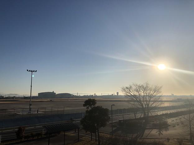 神明公園から小牧基地(県営名古屋空港)IMG_2019