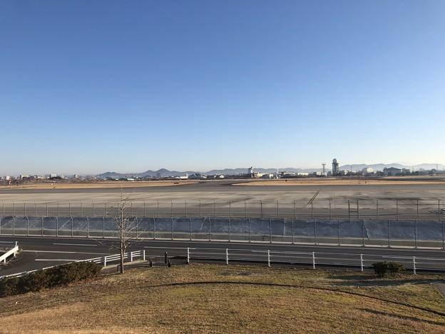 神明公園から MRJ完成機 駐機場 IMG_2020