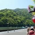 Photos: 爽風吹く嵐山