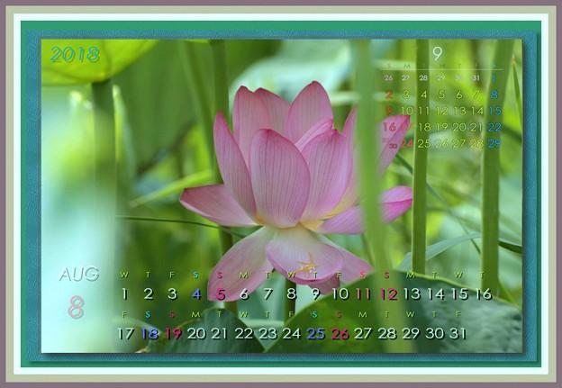 葉月カレンダー