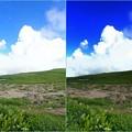 雲の白飛び提言