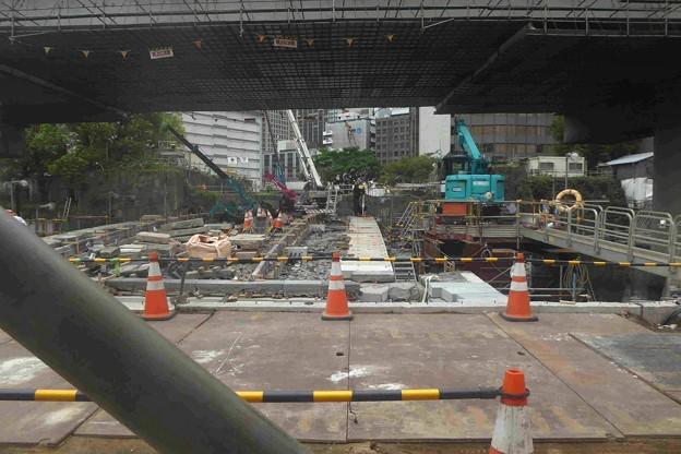 常盤橋改修工事