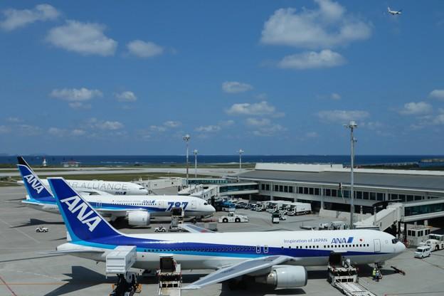 空が高い空港