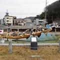 写真: 相生ペーロン祭のオブジェ (1)