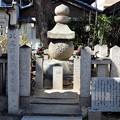 八尾別当顕幸墓(常光寺境内) (1)