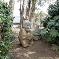 写真: 吉備姫王墓の猿石 (2)