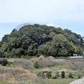 写真: 中島農園附近の眺め (2)・天武持統合葬陵