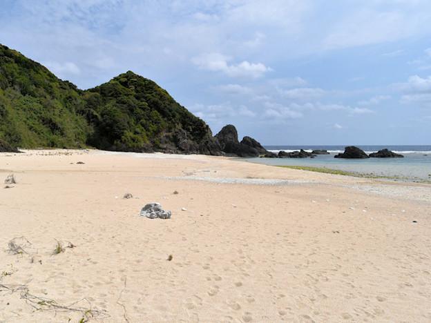 奄美最南東端・徳浜