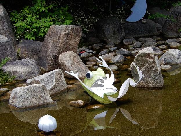 梅田スカイビルの蛙