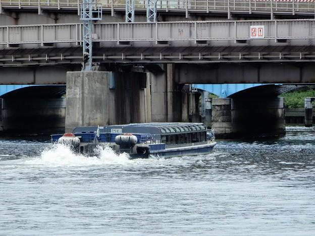 水上バス・天満橋付近 (4)