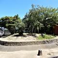 桜児の墓と言われる娘子塚