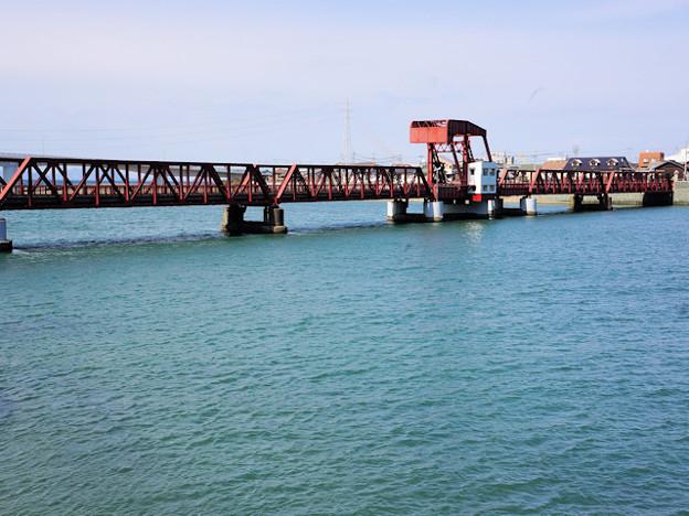 長濱大橋可動橋(大洲市)