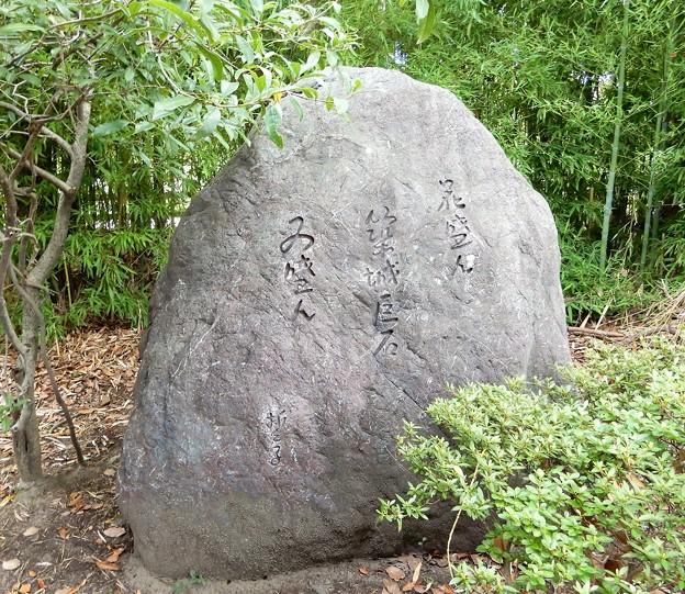 山口誓子句碑(豊国神社境内) (1)