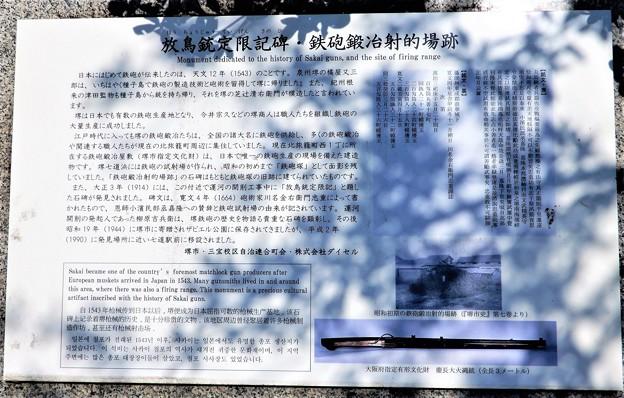 放鳥銃限定記碑&鉄砲鍛冶射的場跡 (2)