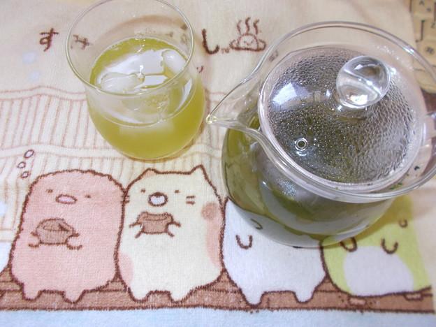 荒畑園の自慢の上級深むし茶3煎・・・冷茶
